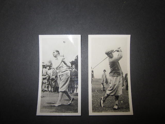 A Bobby Jones card in the Sporting Celebrities in Action series