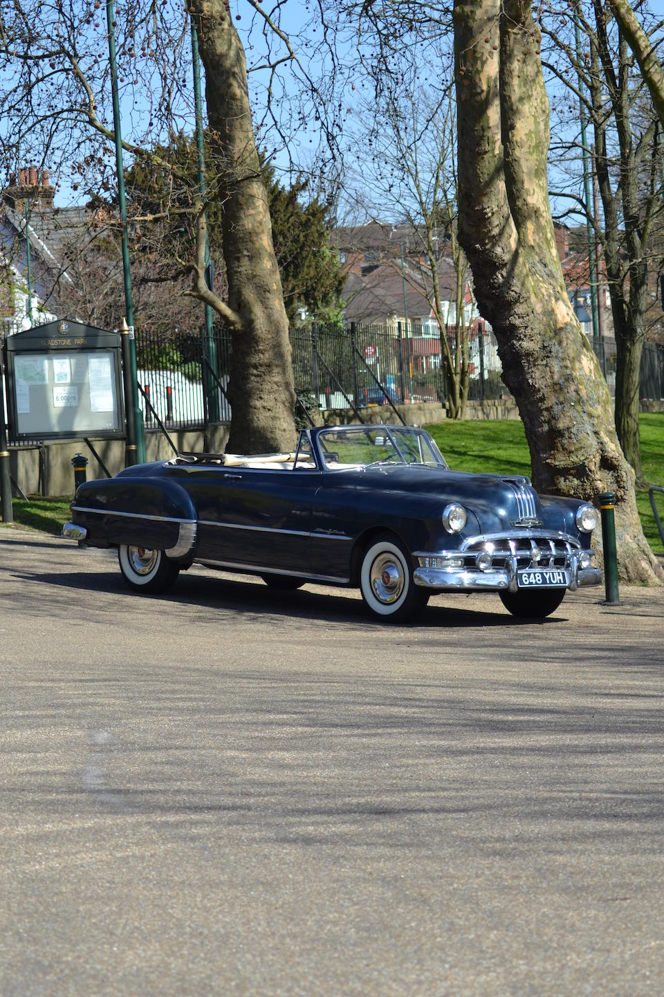 The ex-Keith Richards, used during the making of the famed album, 'Exile On Main St',1950 Pontiac Chieftain 'Silver Streak' Convertible  Chassis no. P8TH 83630