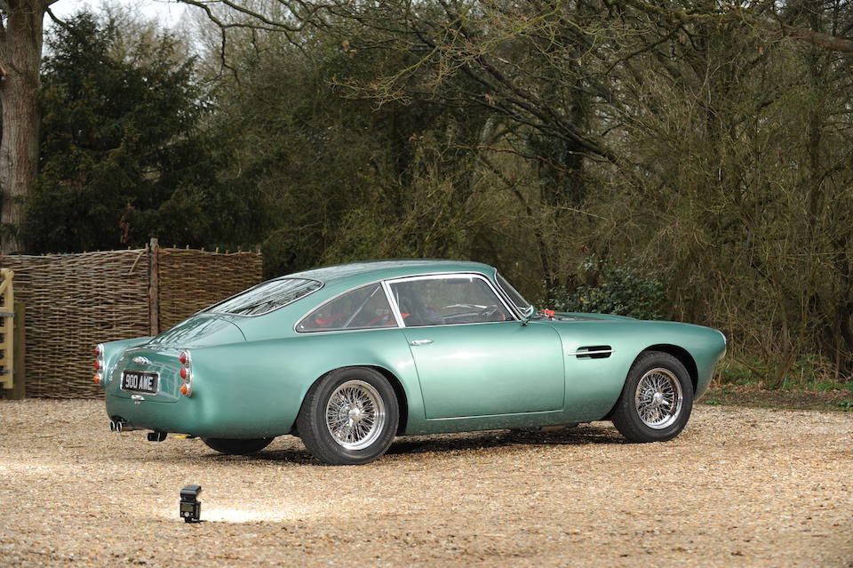 Two owners from new,1961 Aston Martin DB4 4.2-Litre Sports Saloon  Chassis no. DB4/755/R Engine no. 400/3195