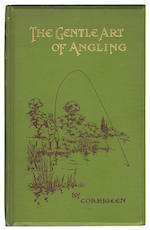 "ADAMS (JOSEPH)] ""Corrigeen"" The Gentle Art of Angling. A Practical Handbook, [1909]; and 4 others, pictorial cloth (5)"