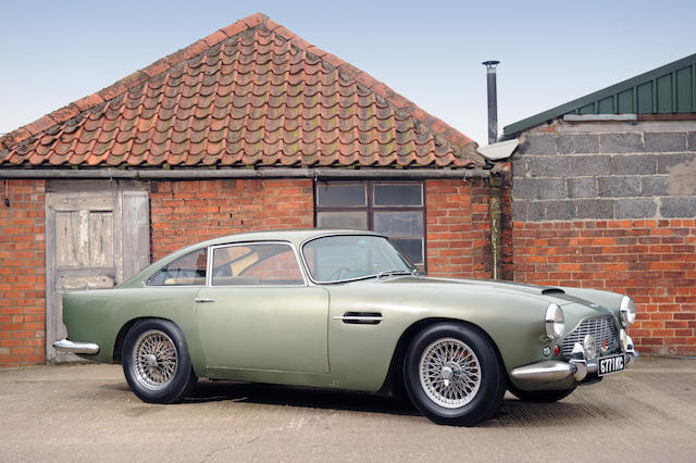 In the present family ownership since 1972,1962 Aston Martin DB4 Series IV Sports Saloon  Chassis no. DB4/925/R Engine no. 370/922