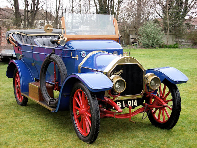 1910 Gladiator 12/14hp Type P Series 51 Tourer  Chassis no. 1454 Engine no. 1454P