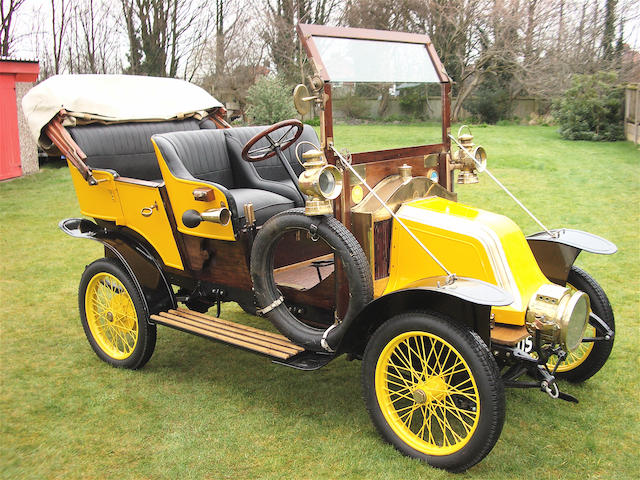 1910 Renault AX 4-Seater