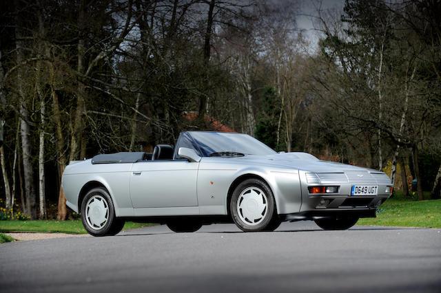 1987 Aston Martin Zagato Vantage Volante
