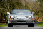 The factory prototype, only 2,500 miles from new,1987 Aston Martin V8 Vantage Zagato Volante Convertible  Chassis no. SCFCV8124HTR20042 Engine no. V580/0042/X