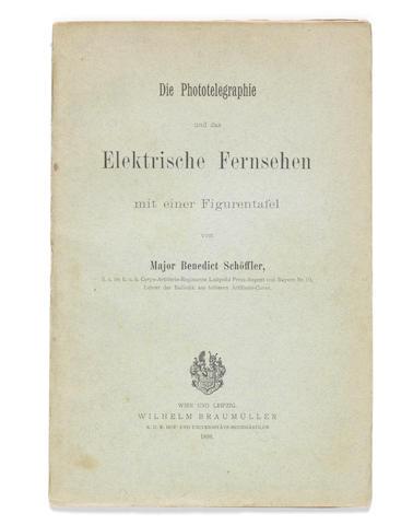 Die Phototelegraphie und das Elektrische Fernsehen mit einer Figurentafel, by Major Benedict Schoffler,