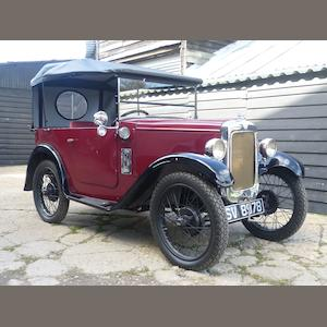 1929 Austin Seven 'Chummy' Tourer  Chassis no. C119007 Engine no. M119508