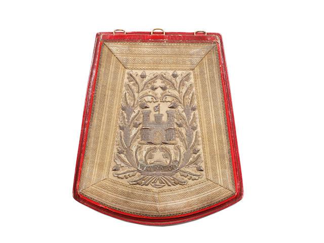6th (Inniskilling) Dragoons Officer's Full Dress Sabretache c1830-1852