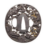 Twelve various Tsuba 17th to 19th century
