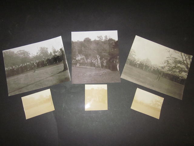 Harry Vardon: 3 early photographs circa 1910