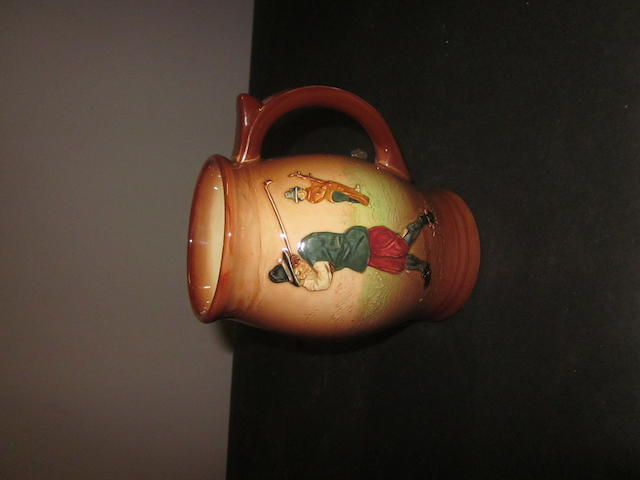 A Royal Doulton Series Ware milk jug