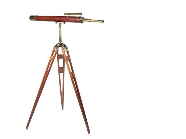 3.1/2-inch telescope by Dancer, on period tripod