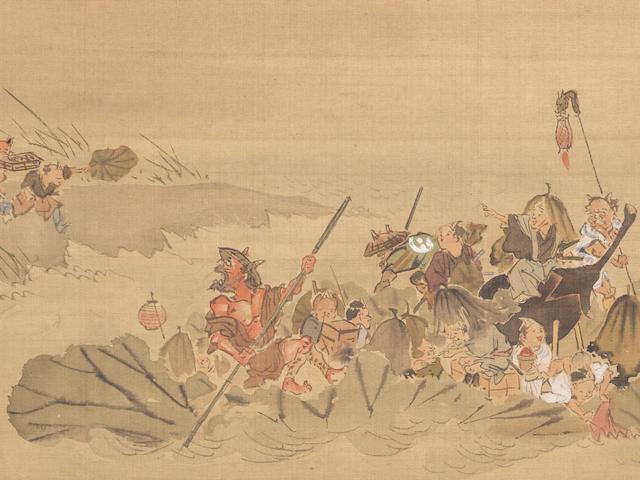 Kawanabe Kyosai (1831-1889) Prior to 1870