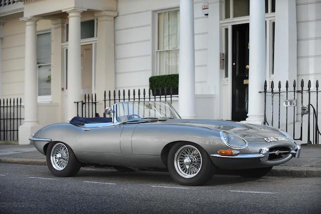 1965 Jaguar XKE 4.2-Litre Series I Roadster  Chassis no. 1E 1109 Engine no. 7E 2540-9
