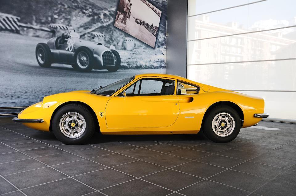 1972  Ferrari  Dino 246GT Berlinetta  Chassis no. 04014