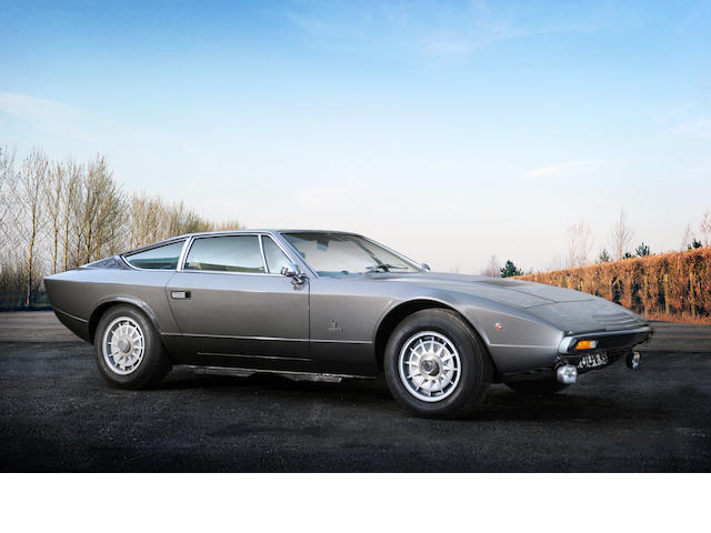 One owner, 23,000 miles from new,1976 Maserati Khamsin Coupé  Chassis no. 120 335 Engine no. 120 335