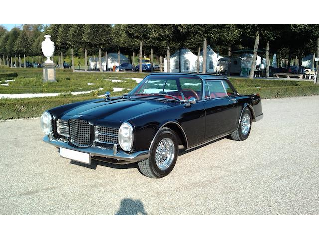 1962  Facel Vega  II Coupé  Chassis no. HK2B138