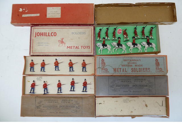RARE early Johillco original boxes and figures 66