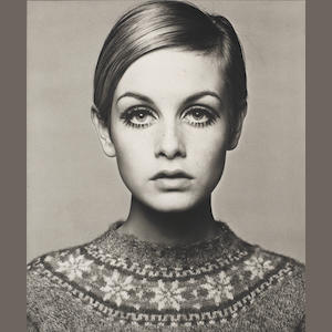 Barry Lategan (British, born 1935) Twiggy, 1966, platinum, AP from ed 35