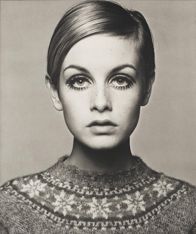 Barry Lategan (British, born 1935) Twiggy, 1966