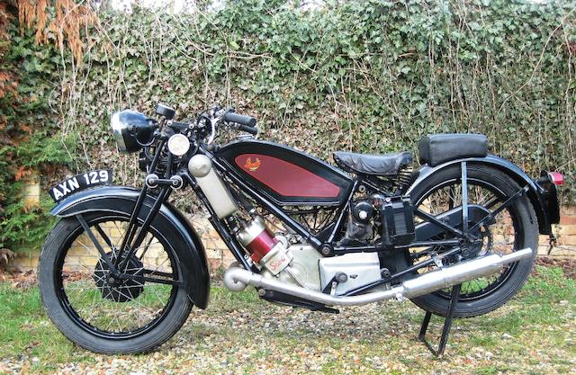 1934 Scott 498cc Flying Squirrel Frame no. 3778 Engine no. to be advised