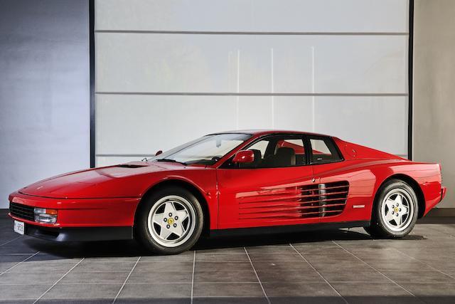 1990  Ferrari  Testarossa Berlinetta  Chassis no. 86357