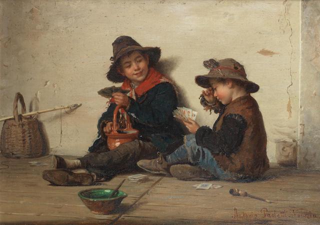 Antonio Ermolao Paoletti (Italian, 1834-1912) The bluff