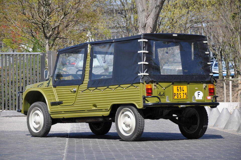 4,700kms from new,1980 Citroën Méhari 4x4  Chassis no. 00CE0519