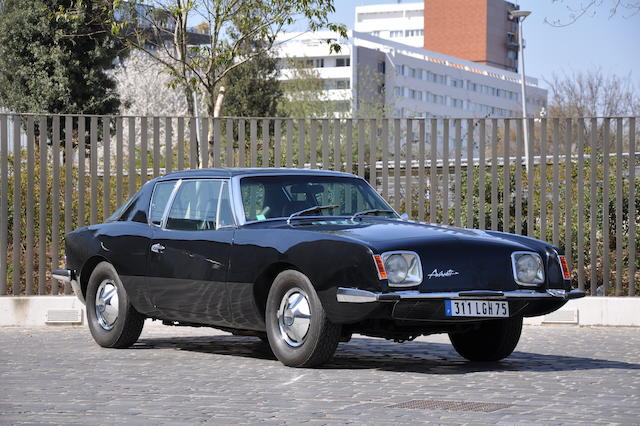 Formerly the property of Raymond Loewy,1972  Avanti  II Coupé  Chassis no. RQB 1829