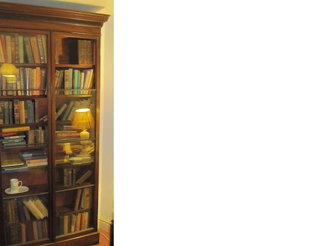 A early 20th century mahogany bookcase