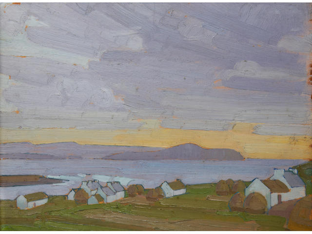 Henry Lamb (British, 1883-1960) 'View in Donegal'
