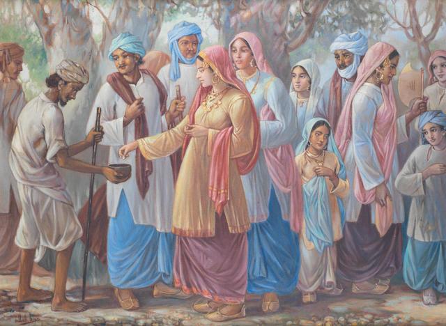 Ustad Allah Bux (Pakistan, 1895-1978) Untitled,