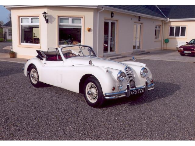 Sold in aid of the registered charity, '3Ts - Turn The Tide Of Suicide',1956 Jaguar XK140SE Drophead Coupé  Chassis no. S807451DN Engine no. G8699-8S