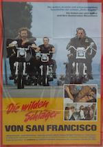 Three motorcycling related film posters,