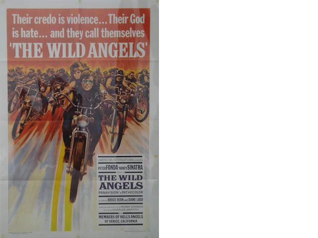 Two motorcycling related film posters,