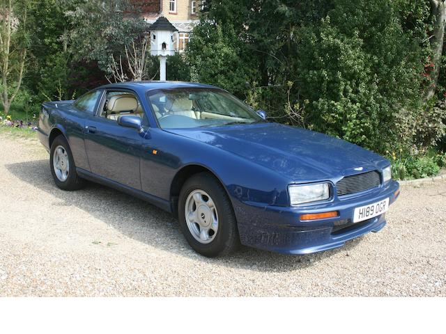 1991 Aston Martin Virage Coupé  Chassis no. SCFCAM154MBR50178 Engine no. 89/50178/A