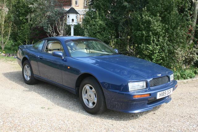 1991 Aston Martin Virage Coupé  Chassis no. SCFCAM154MBR50178 Engine no. 89/50178/A