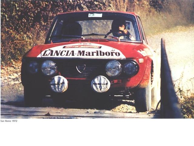 1971 Lancia Fulvia Group IV Usine