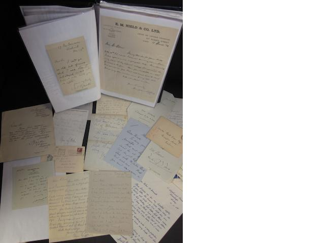Cricket letters and general ephemera