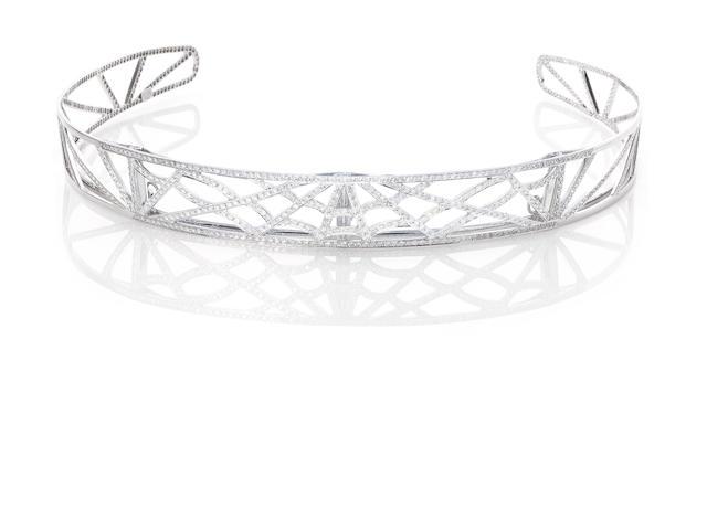 A diamond bandeau, by Chaumet