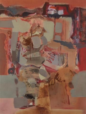 James Cumming (British, 1922-1996) 'The Peg-Legged Tinker'