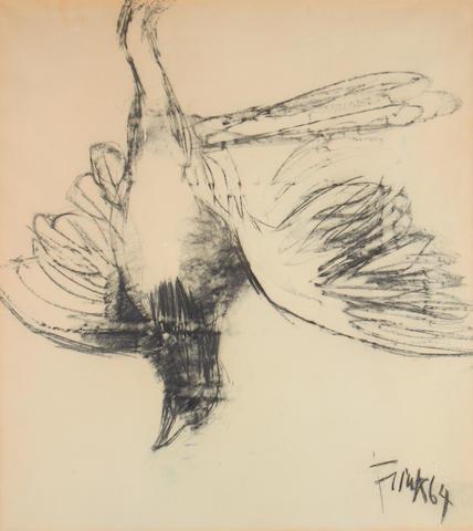 Dame Elisabeth Frink R.A. (British, 1930-1993) Bird