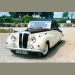 1950 Daimler DB18 Special Sports Drophead Coupé  Chassis no. 59147 Engine no. 28564