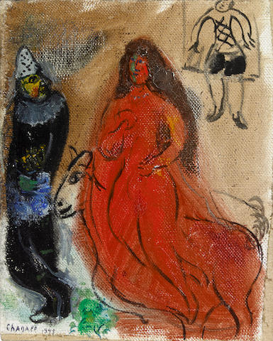 Marc Chagall (Russian/French, 1887-1985) Cirque
