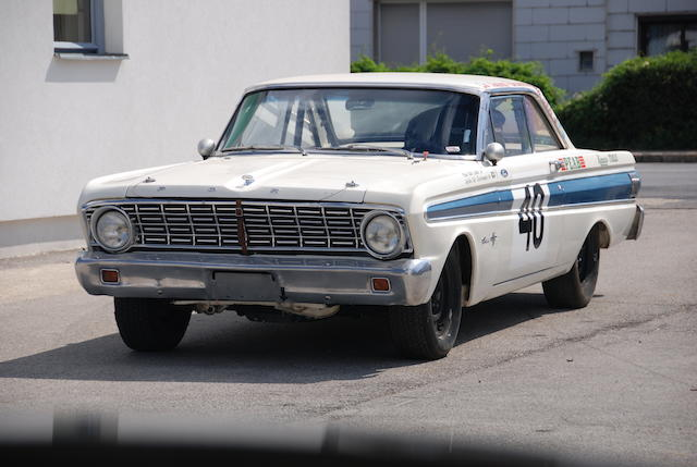 The ex-Bo Ljungfeldt, Monte Carlo Rally class-winning,1963  Ford  Falcon Futura Sprint Coupe  Chassis no. 4A13F125402