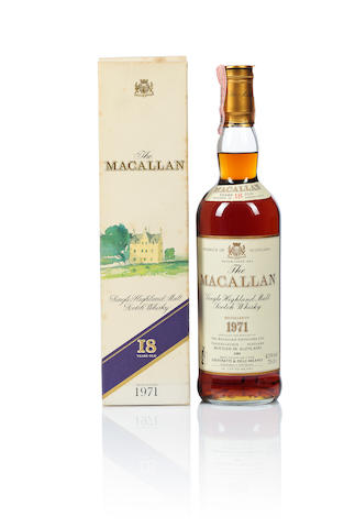 The Macallan- 1971- 18 year old