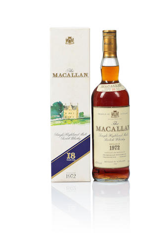 The Macallan- 1972- 18 year old