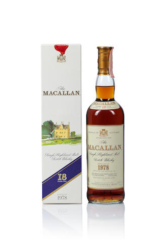 The Macallan- 1978- 18 year old