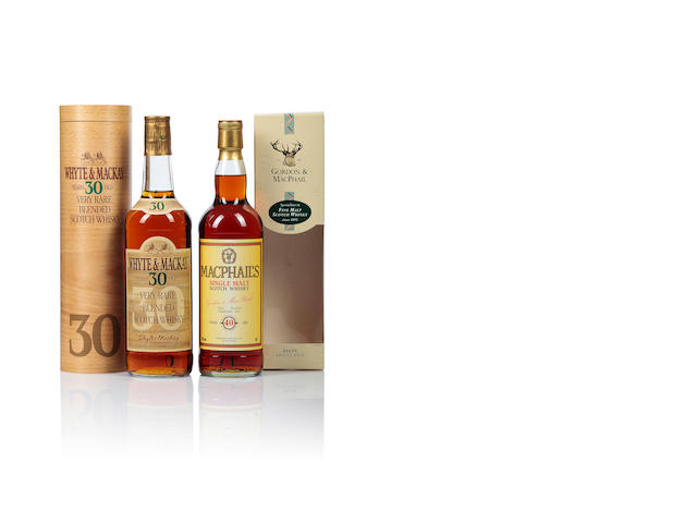 MacPhail's Blended Malt- 40 year old (1) <BR /> Whyte & Mackay Blended Malt- 30 year old (1)