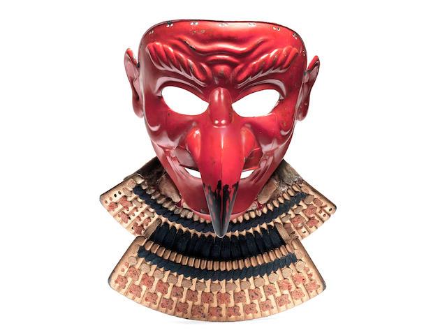A tengu somen (mask) By Geishu Myochin Kiyoyoshi, mid Edo Period, 18th/19th century